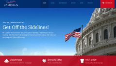 Campaign Home Page