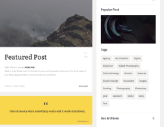 Classic blog posts of Agenzy theme
