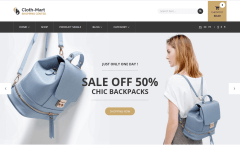 Cloth-Mart Home Page