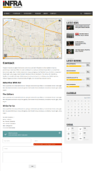 Contact Page of INFRA