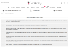 Coolbaby FAQ Page