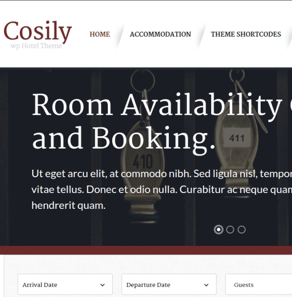 Cosily WordPress Theme