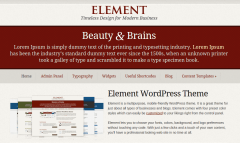 Element Home Page