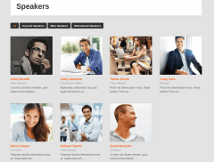 Eventor Speakers Page