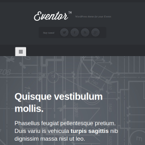 Eventor WordPress Theme