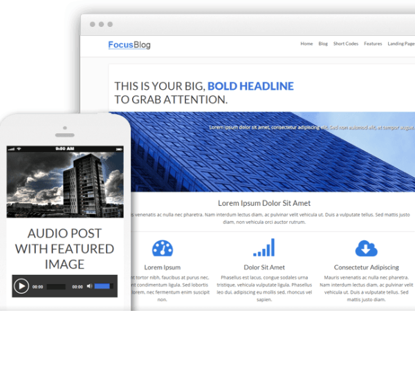 FocusBlog – Multipurpose WordPress theme