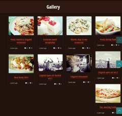 Gallery Page Linguini