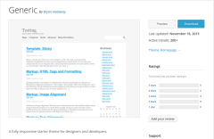 Generic WordPress Page