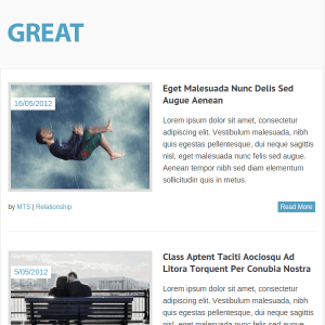 Great Free Responsive Magazine WordPress Theme