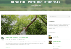 Green Nature Blog Page