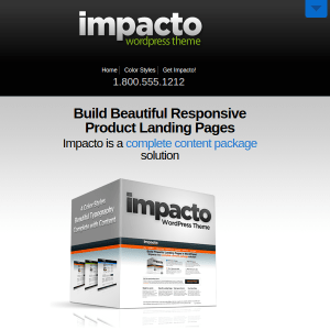 Impacto WordPress Theme