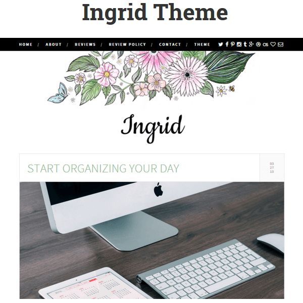 Ingrid WordPress Theme