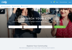 Listify Home Page