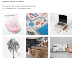 Maker Home Page