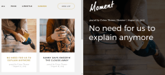 Moment – Summer category posts shown by Moment theme.