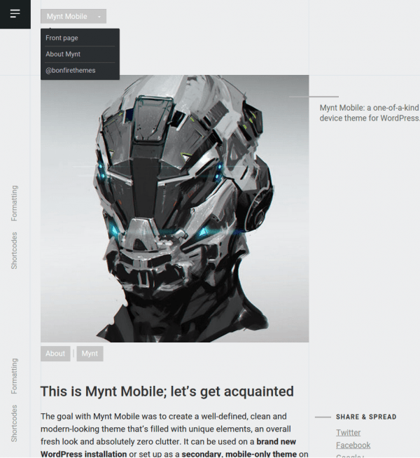 Mynt-Single-page-Mobile-site