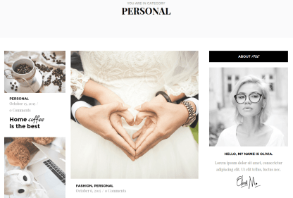 Olivia Personal Page