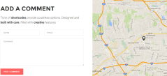 Oxides- Splited contact page layout