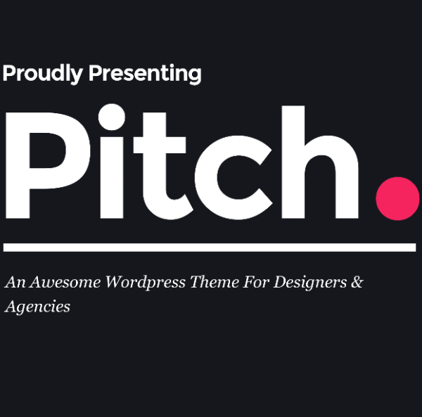 Pitch- A WordPress theme for Freelancers and Agencies