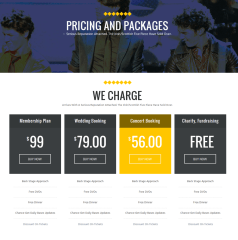 Pricing & Packages Page