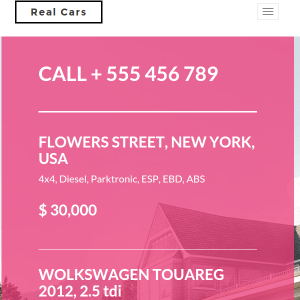 RealHouse & RealCars - Real Estate WordPress Theme