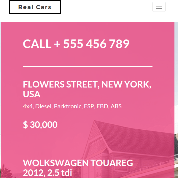 RealHouse & RealCars – Real Estate WordPress Theme