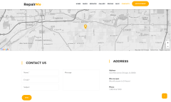 RepairMe Contact Page