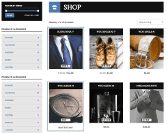ShockMag- Shop page of this theme