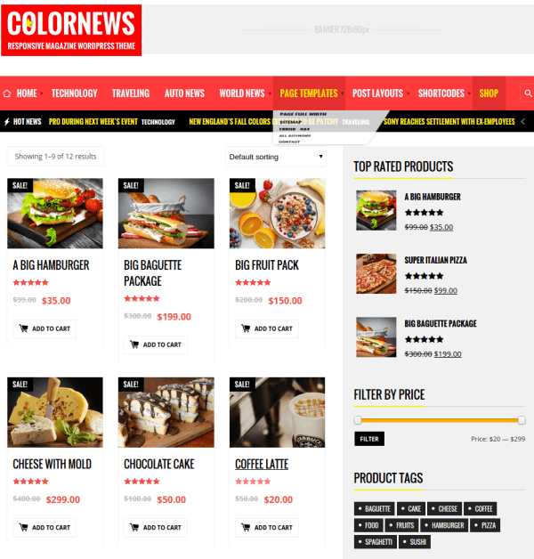 Shop-Colornews-Wordpress