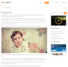 Single blog page- Compass