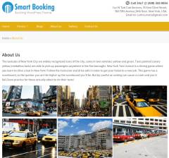 Smart Booking About page