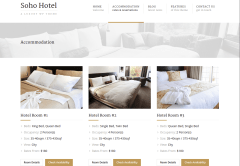 Soho Hotel Accommodation Page