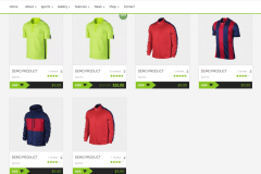 Sports Cup Shop Page