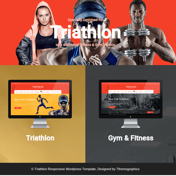 Triathlon - Responsive WordPress Template