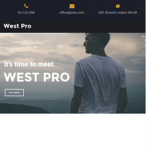 West Pro WordPress Theme