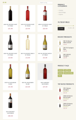 WineShop- Shop page