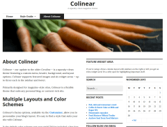 WordPress-theme-fullpage-colinear