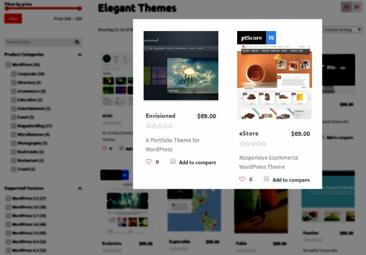 Elegant Themes on PurposeThemes