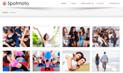 gallery page of spotmoto