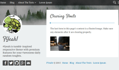 yeah-WordPress-clear
