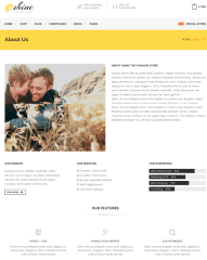 About Us Page – Shine