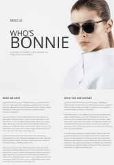About Us Page – VG Bonnie