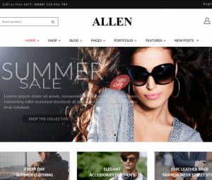 Allen-WordPress-theme