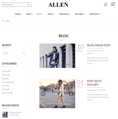 Allen-WordPress
