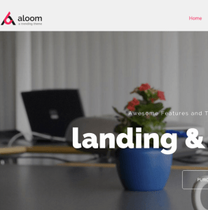 Aloom homepage