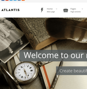 Atlantis homepage