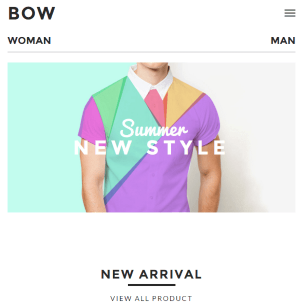 BOW – Responsive WooCommerce WordPress theme
