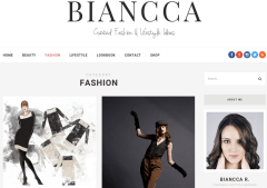 Biancca Fashion Page