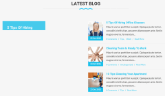 Blog Section of Cleaning