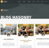 Blog page in Ivent